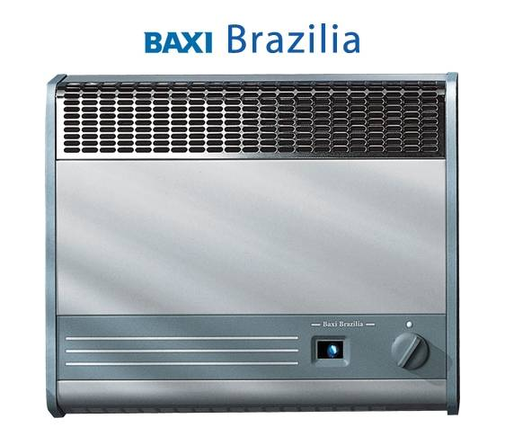 как выбрать газовый котел для отопления Газовый конвектор Baxi Brazilia