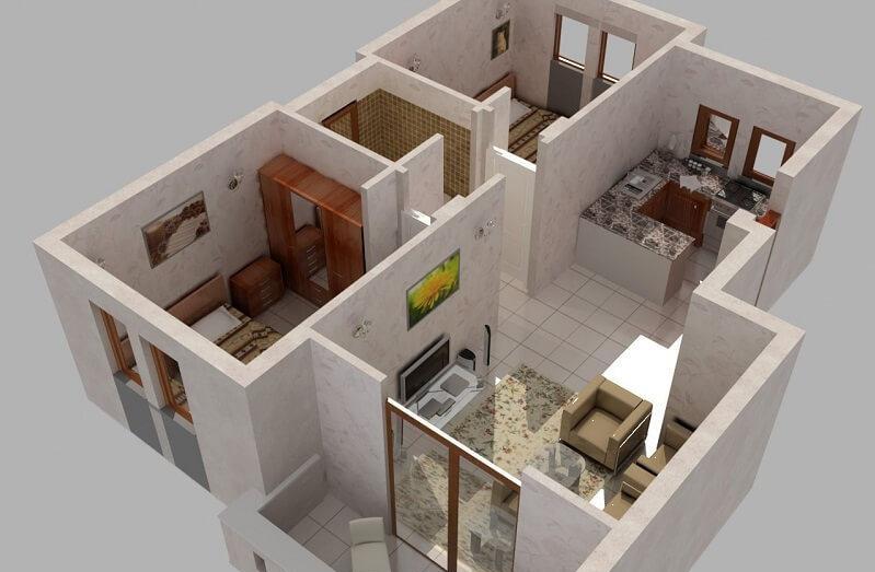 Перепланировка квартиры: типы помещений