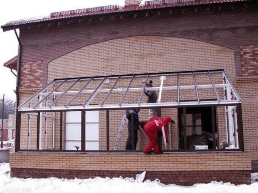 Зимний сад -строительство