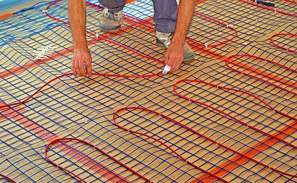 Монтаж теплых полов: необходимость металлической сетки