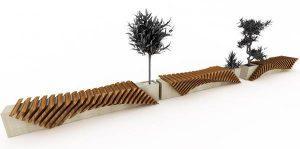 Городская скамейка от Juampi Sammartino