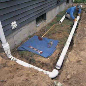 Водоотвод для сточных вод: порядок обустройства