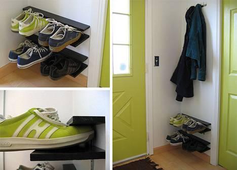 Изящно простая эргономичная стойка обуви