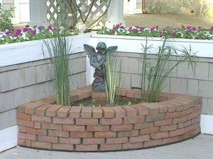 Строительство маленького фонтана
