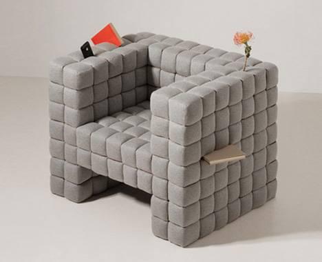 Кресло со встроенным хранением