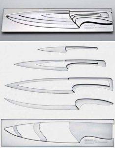Умный кухонный набор столовых ножей