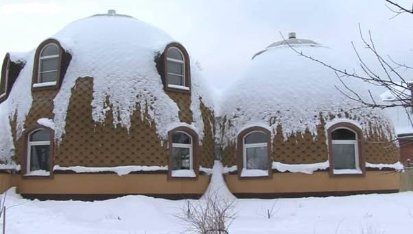 Купольный дом архитектора Гребнева