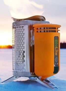 Термоэлектрическая зарядка для гаджетов и для приготовления еды