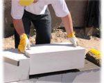 Технология укладки и выбор клеевого состава. Строительство дома из газобетонных блоков