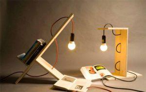 Полка лампа для книг - ShelfLamp хранение и организация книг
