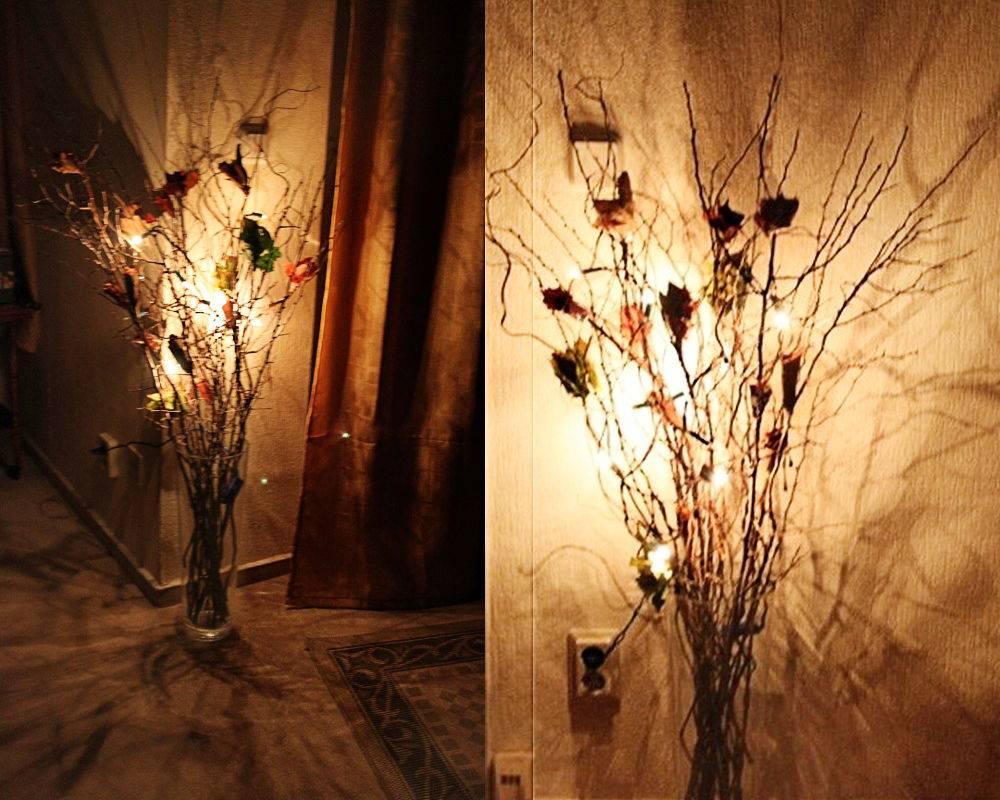 Осенний светильник