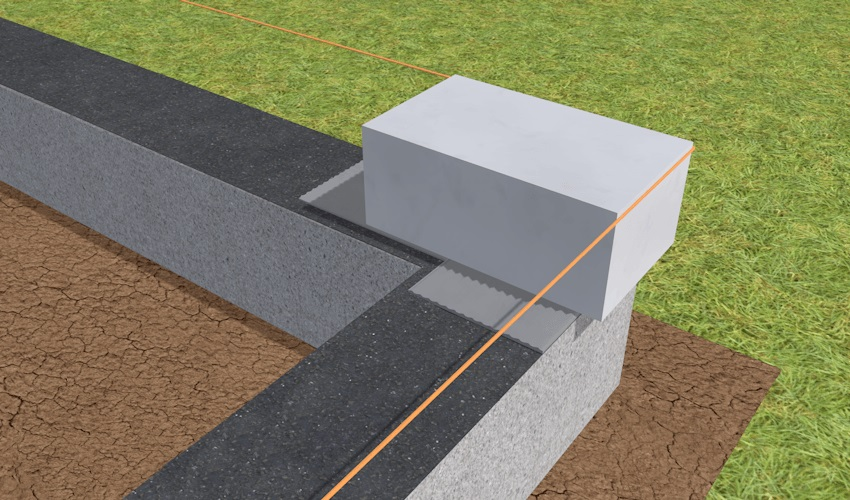 Кладка - угловые блоки