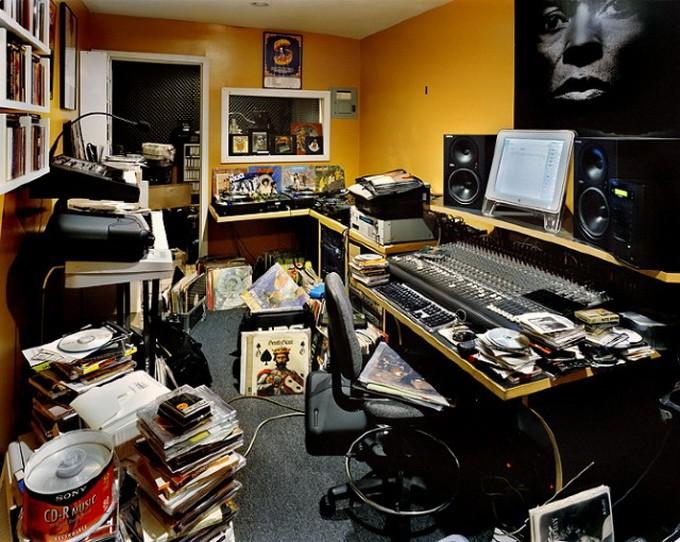 дизайн интерьера DJ