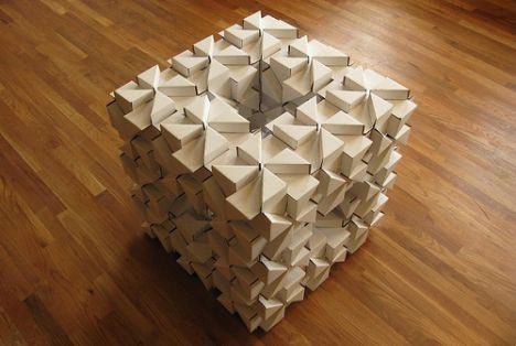 Картонные блоки