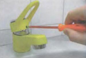 Замена керамических дисков смесителя