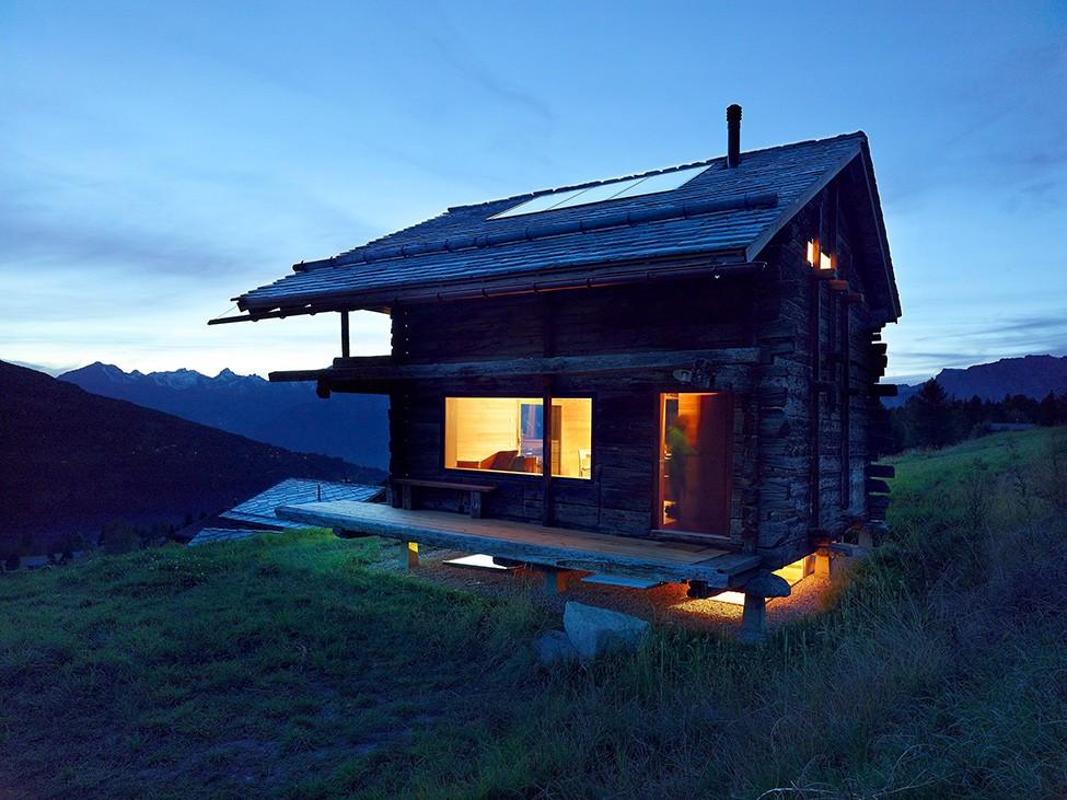 Деревянный дом, Швейцария