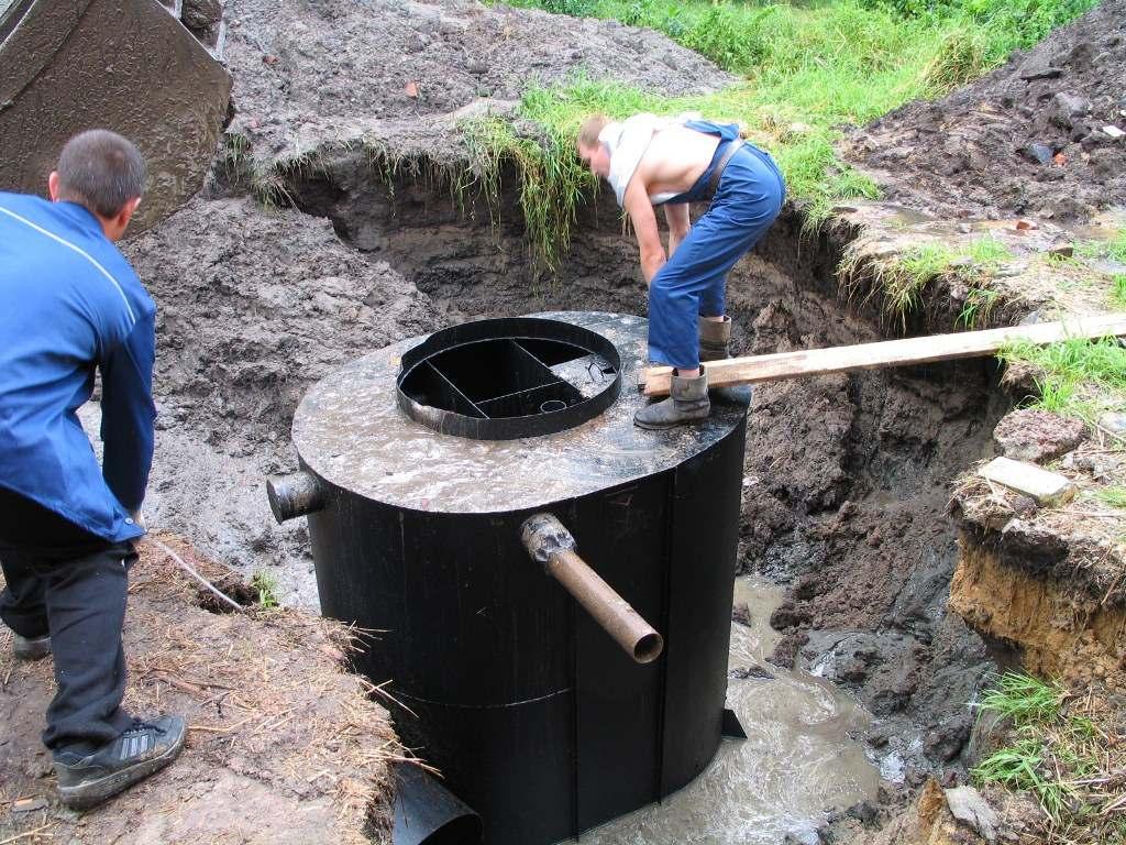 канализационная система частного дома