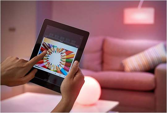 Управляемые лампочки Philips Hue с iOS и Android