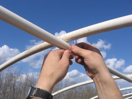 Теплица своими руками из полипропиленовой трубы