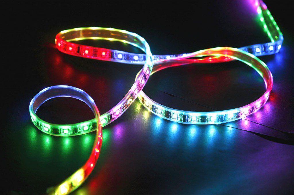 Цветная светодиодная лента