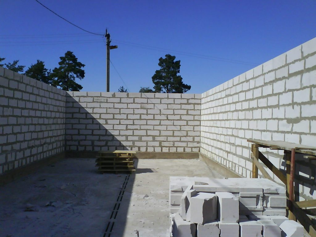 Газобетонный блок в малоэтажном строительстве