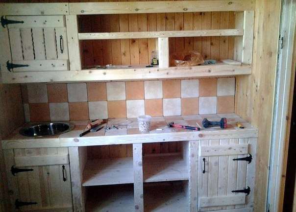 Кухня в стиле старины