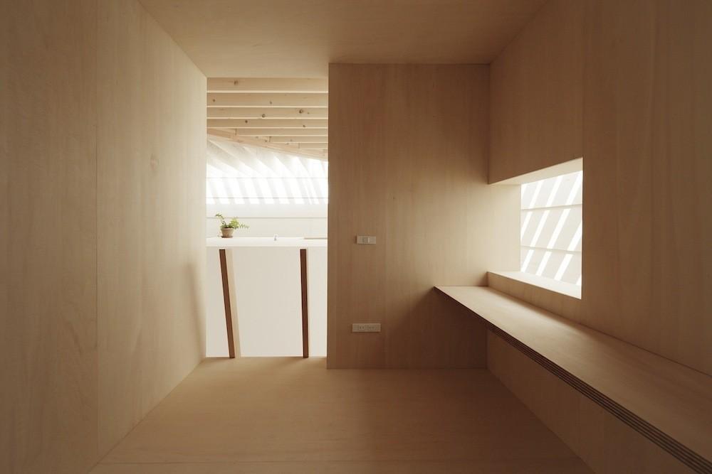 Равномерное освещение жилой среды: дома в Японии