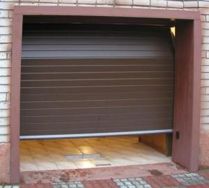 Выдвижные гаражные ворота