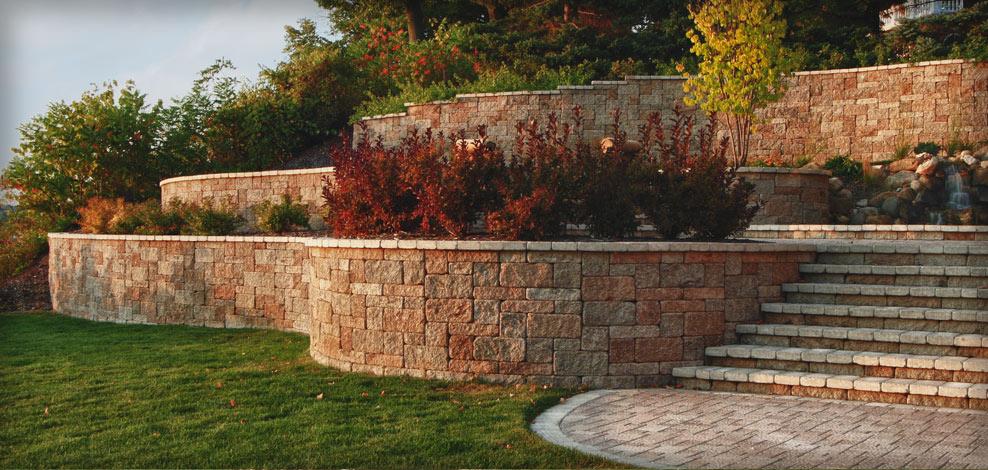 подпорная стенка бетон