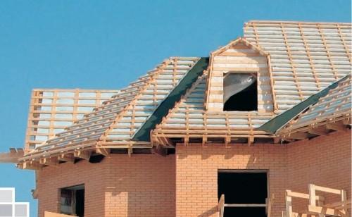 Монтаж сложных конструкций крыш