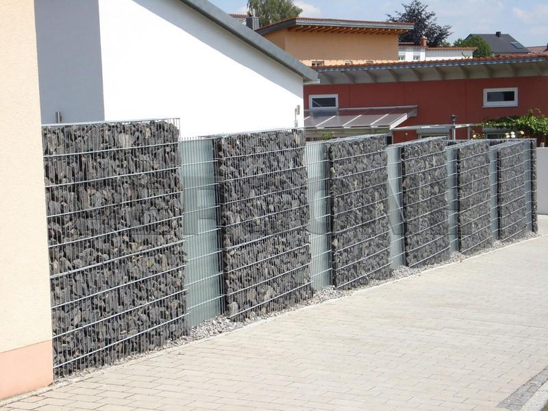 Секционные заборы из пергонов фото