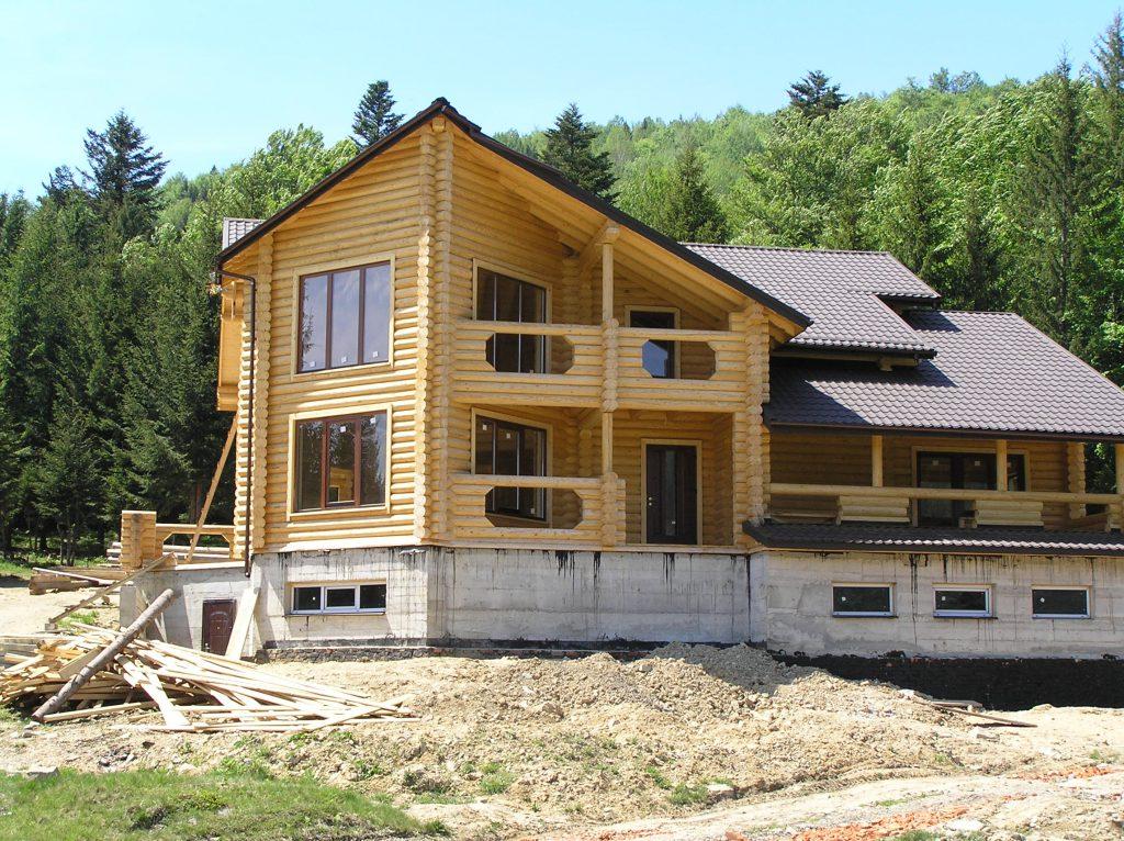 Строительство домов из бруса калиброванного.