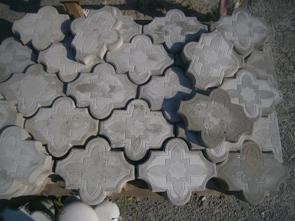 Готовая тротуарная плитка фото