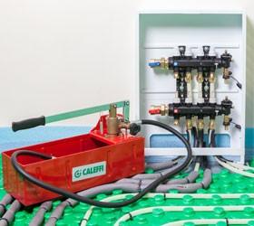 Пресс для опрессовки системы отопления