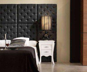 Декоративные стеновые панели из кожзаменителя