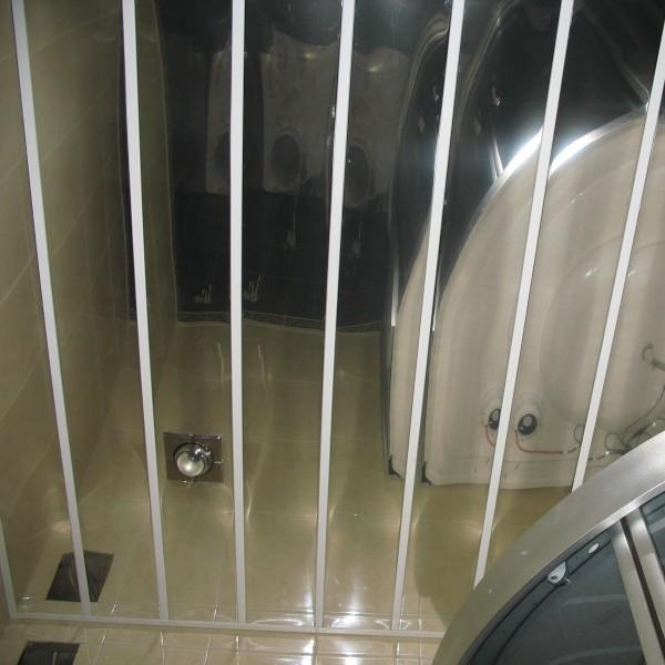 Реечный потолок Албес фото