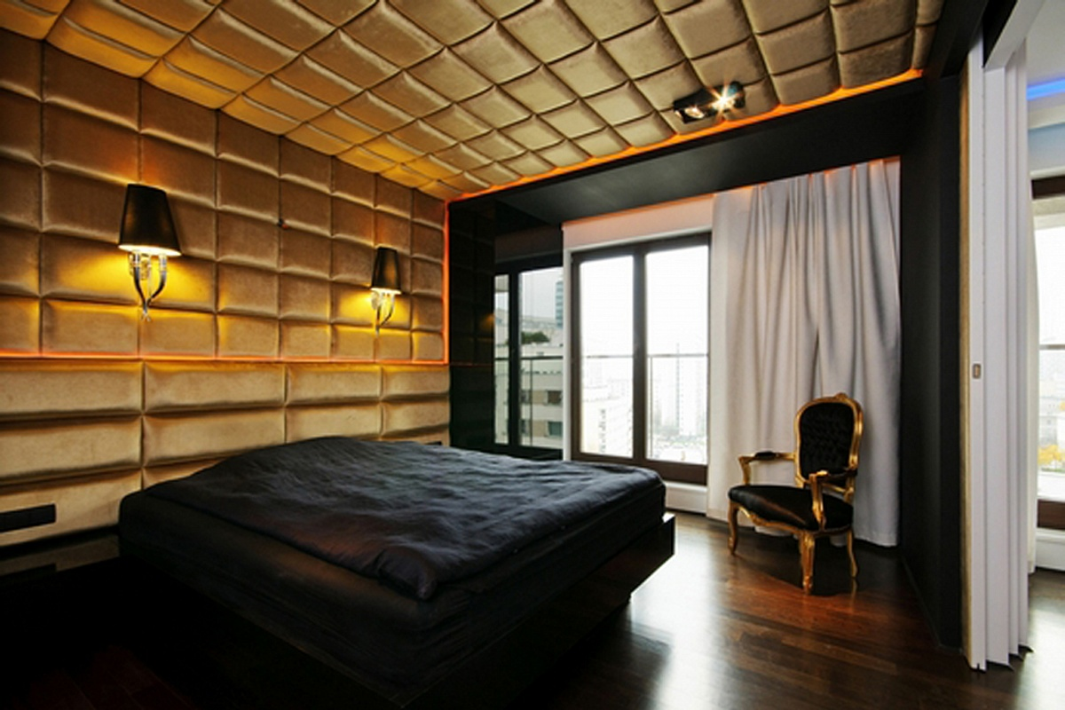 Мягкие панели на стену и потолок