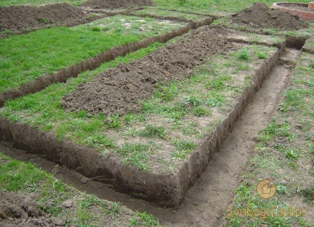 Земляные работы и «подушка»