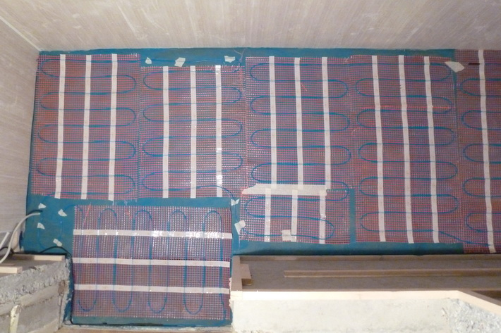 Электрическая система обогрева (кабель или маты) фото
