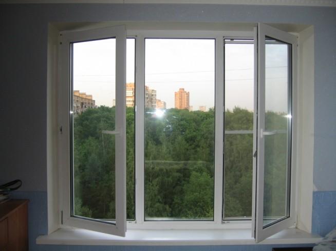 Пластиковые окна С поворотной створкой или распашной
