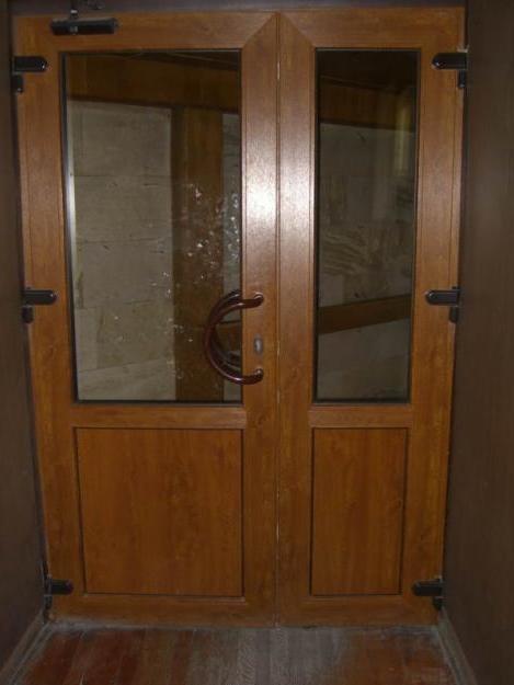 одно или двухсторонняя ламинация двери