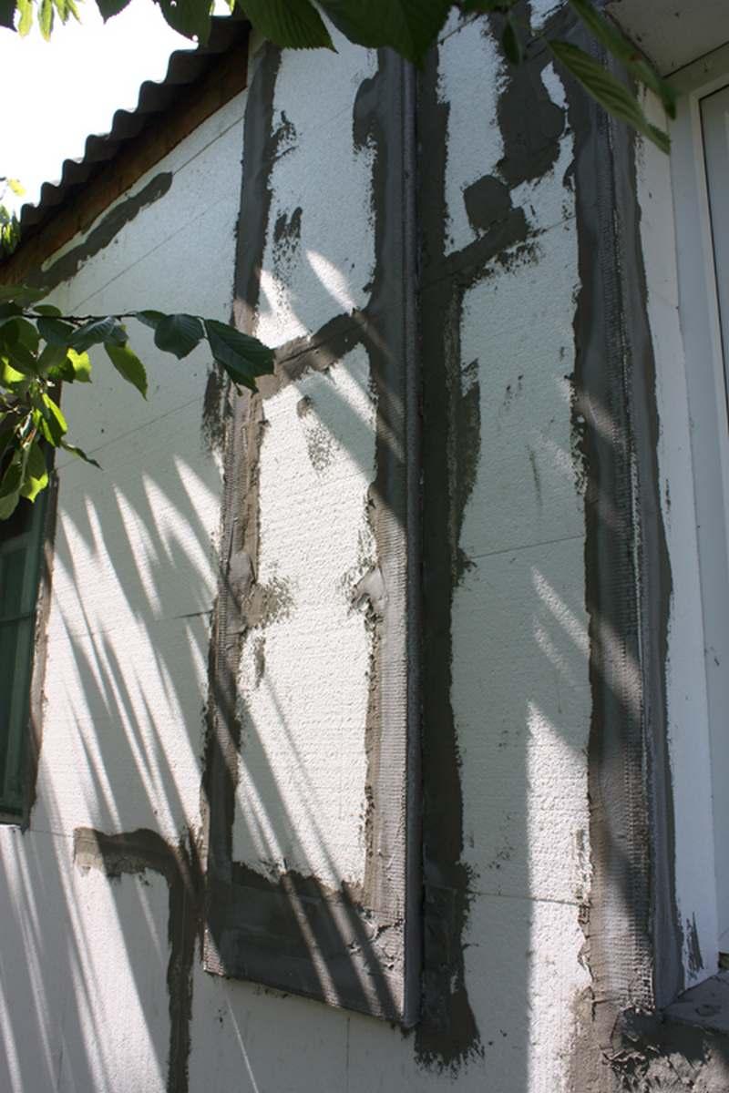 Армирование стен монтажной сеткой 12