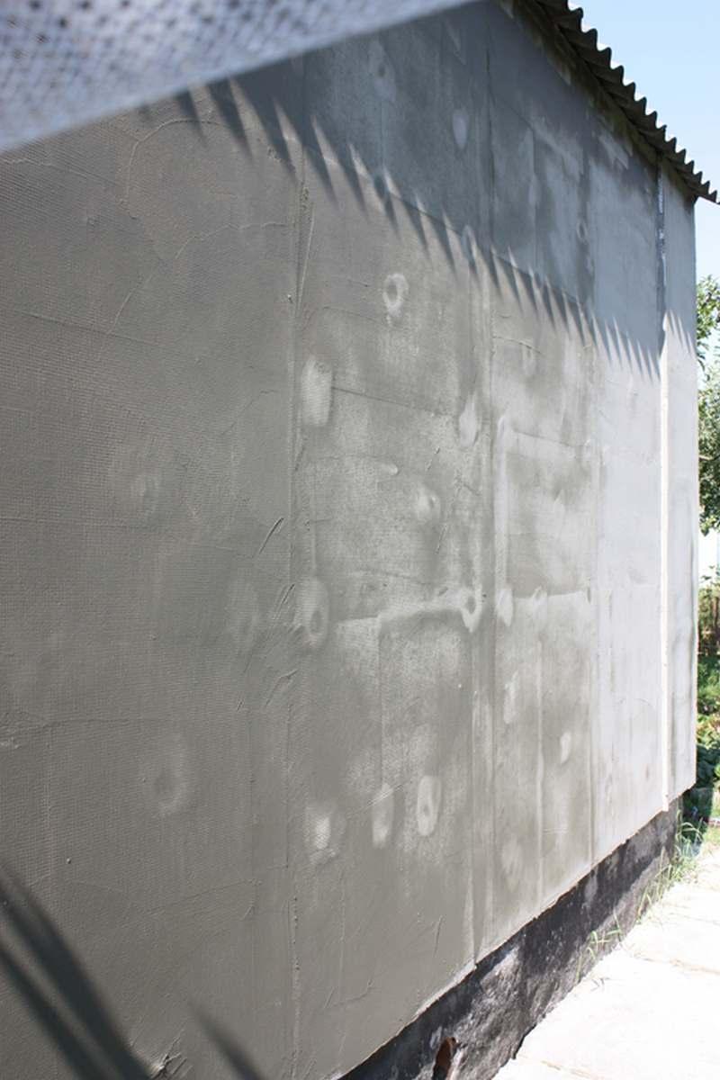 Проармированная стена фото