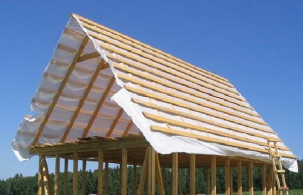 Двухскатная крыша расчет материала