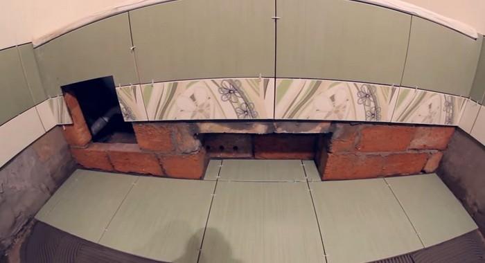 зазор между стеной и бортиками ванны