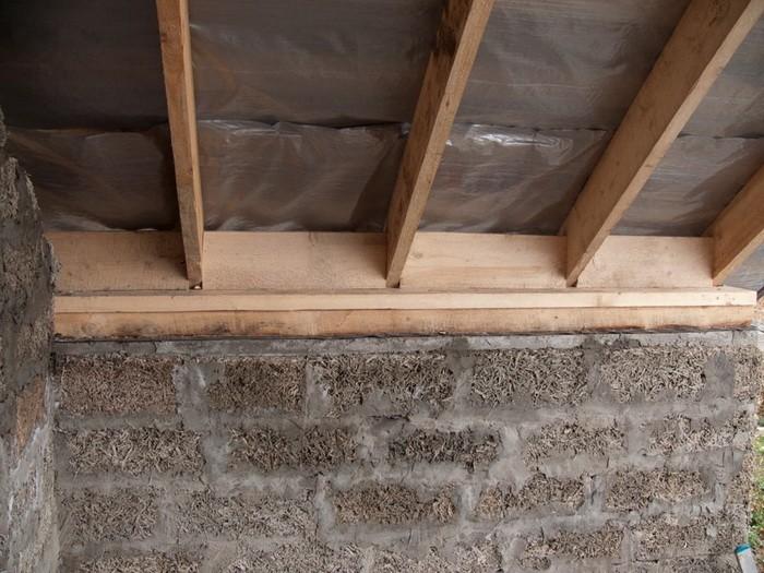 Двухскатная крыша с мансардой фото
