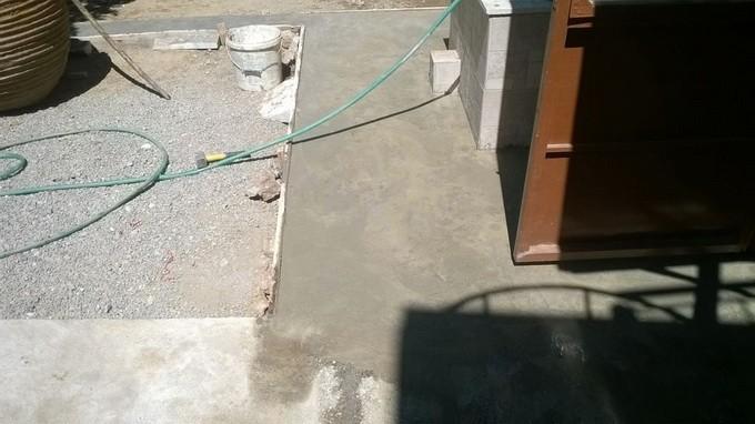 Патио на даче фото