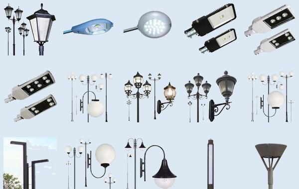 Разновидности уличного освещения фото