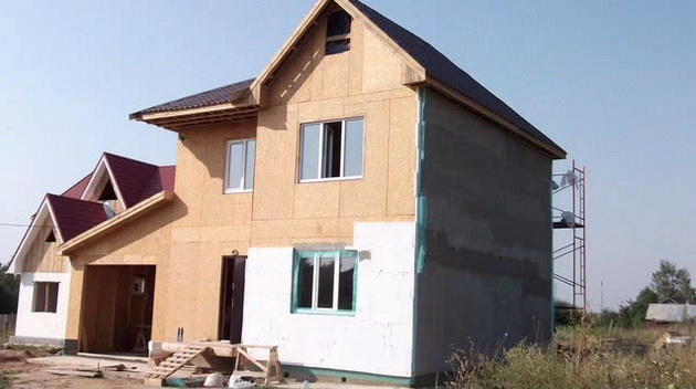 каркасный дом своими руками пошаговая инструкция видео