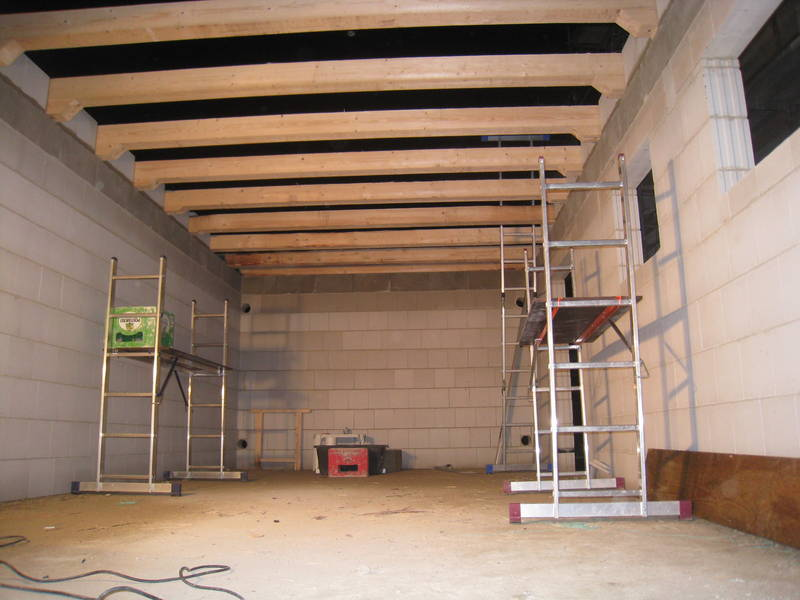 крыша гаража фото